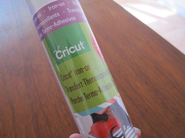 Using Cricut Iron-On Vinyl for T-shirt graphics for kids.