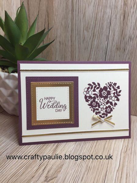 Crafty Paulie: Simple Wedding Card