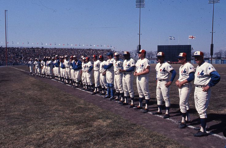 Montreal, 1969 - Montreal Expos inaugural game at Jarry Park vs. the St. Louis Cardinals.