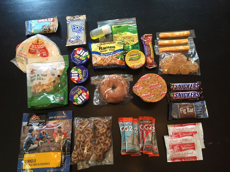 Tomorrow JoJo and I leave for a 4 day 3 night section hike along the AT and I wanted to share what I will be taking along with me to eat.  I plan on eating a big breakfast tomorrow AM before I driv…
