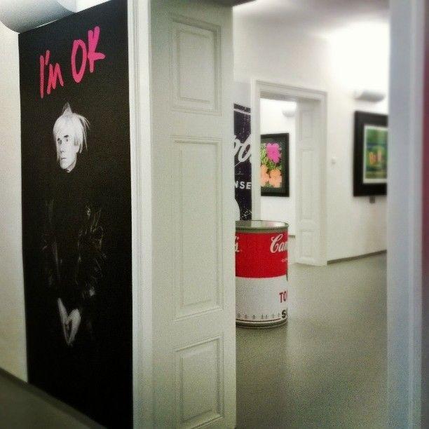 I'm OK, Warhol . GALERIE ART Praha Staroměstské náměstí - July 18th, 2014