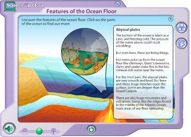 W18 Parts of the ocean floor interactive -