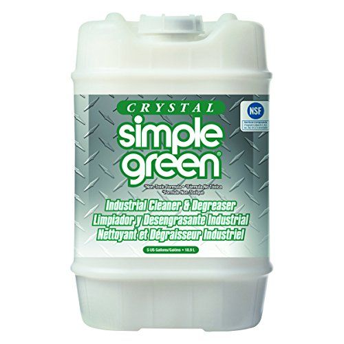 Simple Green 19005 Crystal Industrial Cleaner and Degreaser, 5 gallon Pail #Simple #Green #Crystal #Industrial #Cleaner #Degreaser, #gallon #Pail