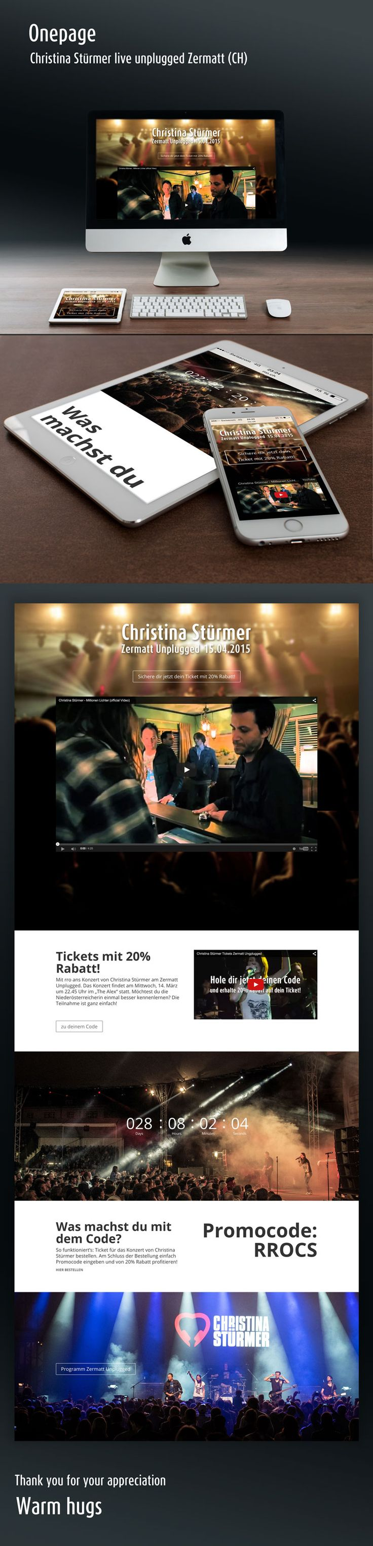 #onepage #zermatt #unplugged #christina stümer