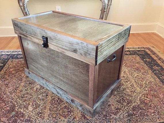 Horse Tack Trunk Horse Tack Box Rustic Tack by MtnCreekWoodworks