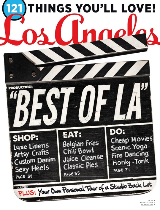 Los Angeles, August 2012: Choice Covers, Magazine Covers, Cover Design, Angeles Cover, Magazine Design, Los Angeles, Covers Ii