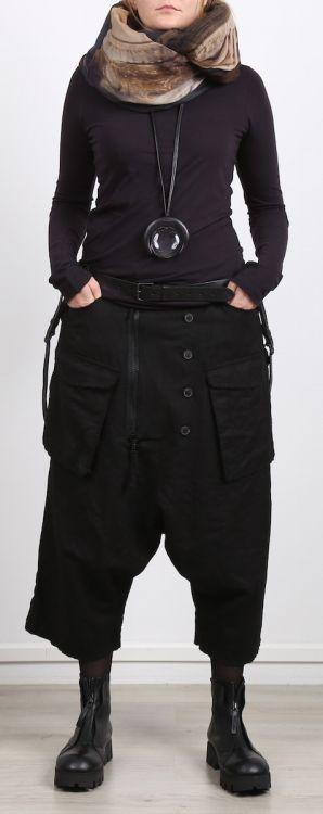 rundholz - Shirt Langarm Jersey Stretch mit Cashmere rubens - Winter 2017 - stilecht - mode für frauen mit format...