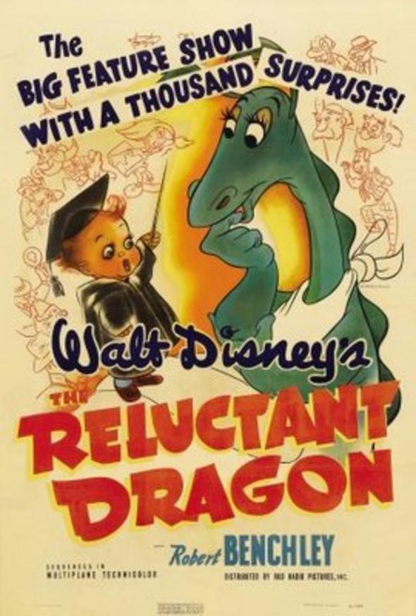 """Der Drache wider Willen - Humorist Robert Benchley begibt sich auf eine Tour durch die Disney-Studios, wo er Walt Disney die Idee verkaufen will, aus Kenneth Grahames Geschichte """"Der Drache wider Willen"""" einen Film zu machen. Auf seiner Reise begegnet er verschiedenen Personen, besucht die diversen Abteilungen des Studios und sieht dabei zu, wie ein Zeichentrickfilm entsteht."""