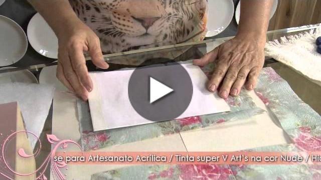 Aprenda a técnica Italiana de decupagem. … …