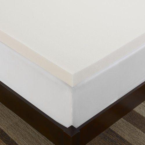 serta 3inch memory foam mattress topper 35pound density queen - Serta Memory Foam Mattress