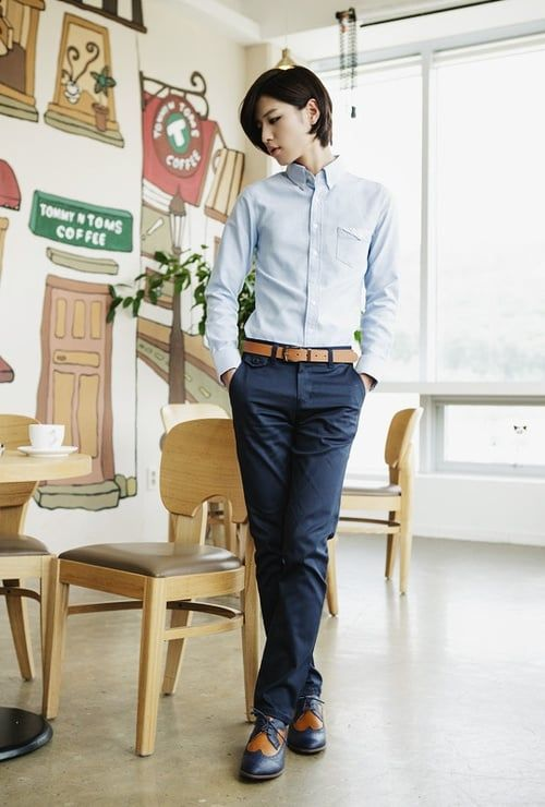The Soft Butch's Business Professional Wardrobe -- a great, and short, article on dressing the part in the work world but still being comfortable in your gender.