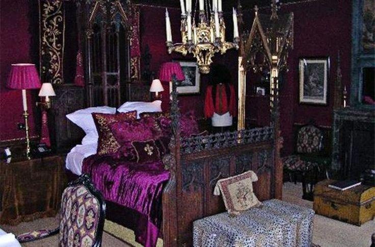 gotische stijl slaapkamer design-photo - 4