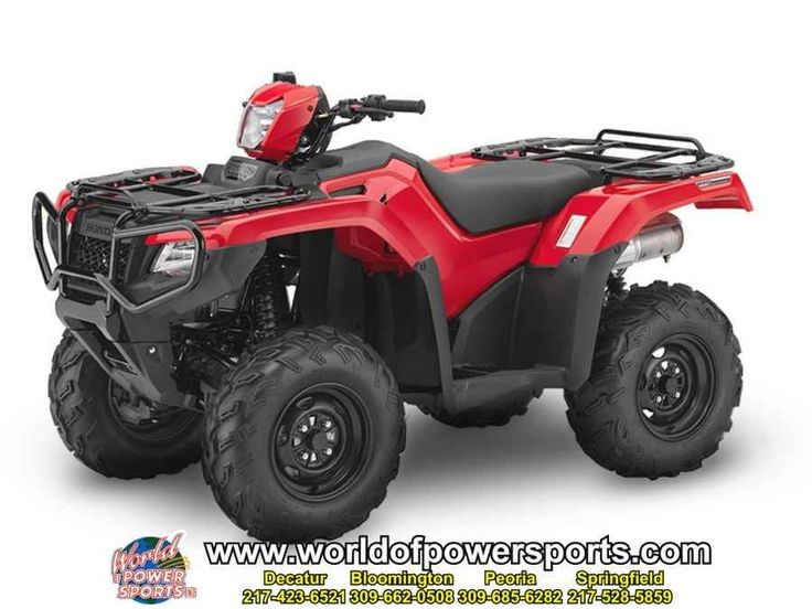 New 2016 Honda TRX500FA6G FOREMAN RUBICON 500 DCT IRS E ATVs For Sale in Illinois. 2016 Honda TRX500FA6G FOREMAN RUBICON 500 DCT IRS EPS, New 2016 HONDA FOREMAN RUBICON 500 DCT IRS EPS ATV owned by our Bloomington store and located in BLOOMINGTON. Give our sales team a call today - or fill out the contact form below.
