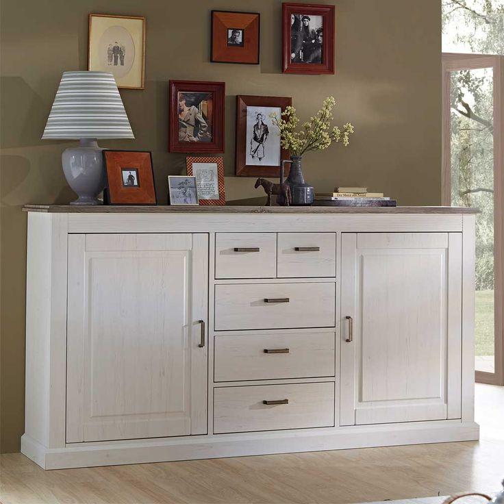 Finest Latest Wohnzimmer Sideboard In Wei Taupe Cm Breit Jetzt Bestellen  Unter Https With Sideboard With Sideboard Modern Wei