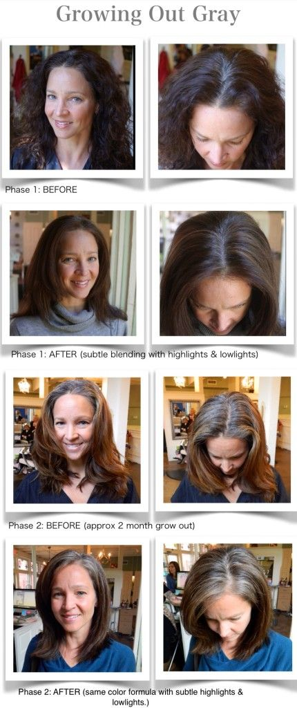 139 Best Grey Hair Transition Inspiration Images On Pinterest