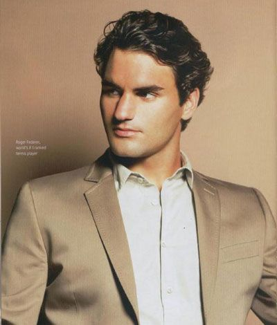 Hottest Olympians - Roger Federer  #Olympics