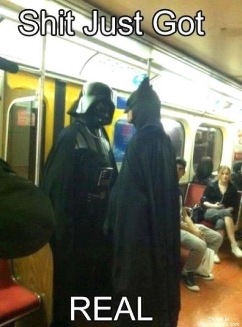 That's right... Lol: Batman Vs, Darth Vader, Awkward Moments, Epic Win, Stars War, Funny, Dark Side, Dark Knights, Faces Off