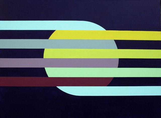 Hard-edge Painting #100 by Gary Andrew Clarke