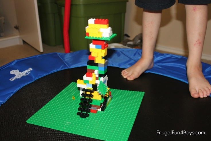 Lego Activity Earthquake Towers Activities Lego