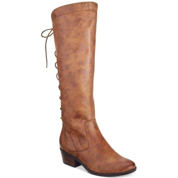 Whiskey BareTraps Gardyna Lace-Up Riding Boots