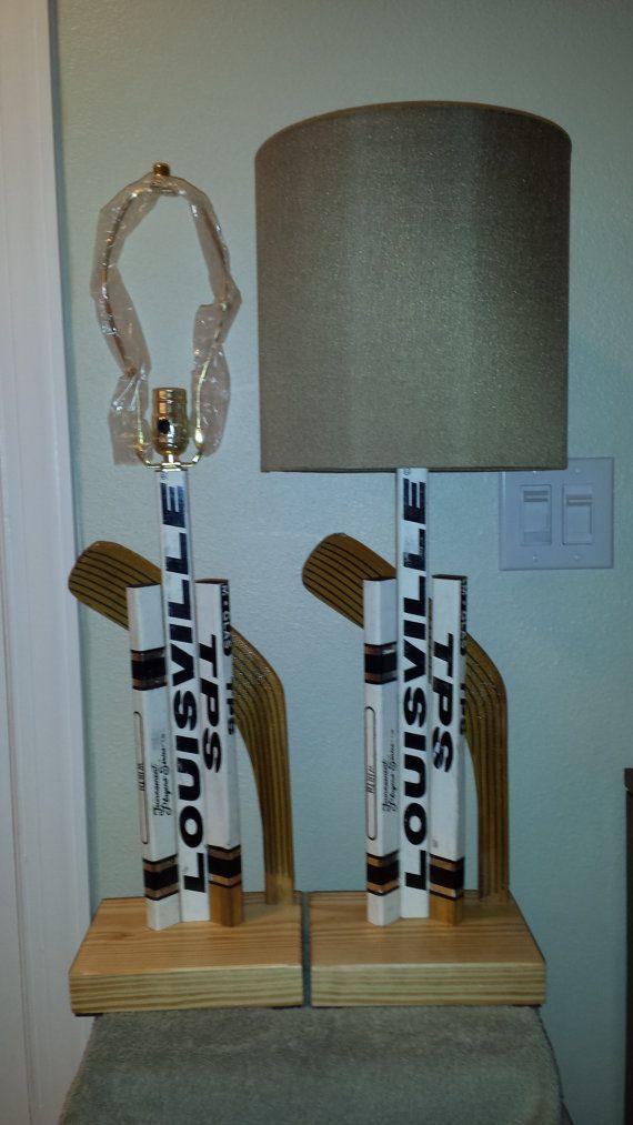 Hockey Stick Lamp Ice Hockey Decor Ice Hockey Gift