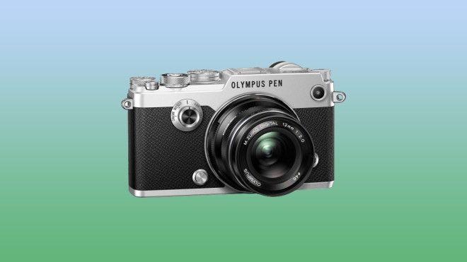 Olympus Classy Old-School Camera Sports New-School Specs