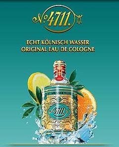 """4711 Eau de Cologne"" was the very first fragrance to enter my awareness as a young girl.  My Omi, who happened to live in the city of Cologne in Germany, wore it daily and when she returned to Germany from her many visits to Australia, the lingering fragrance left me reminiscing  our very special times together.  As I got older, she would leave me her opened bottles and I treasured them."