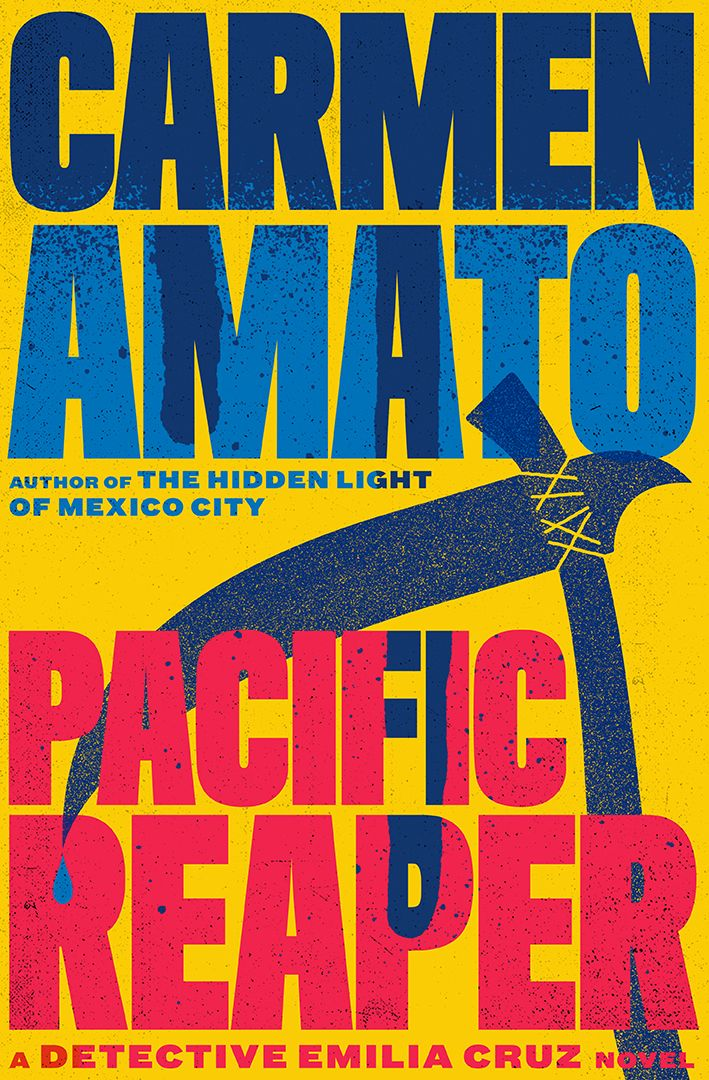Death cult and drug cartels collide in PACIFIC REAPER, the latest Detective Emilia Cruz mystery book release by Carmen Amato