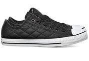 Zwarte Converse schoenen All Star OX gympen