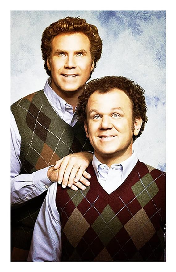 Step Brothers Movie Poster Brennan And Dale Portrait Funny Etsy Step Brothers Brothers Movie Funny Movies