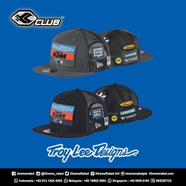 72fae3fa148 2018 TLD KTM TEAM 9FIFTY SNAPBACK HAT Availaible now at XClub leading  stores!  xtremerated  xclubmalaysia  xclub  troyleedesigns  ktm2018