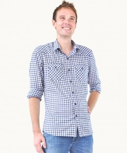 Cotton Admiral Check Shirt