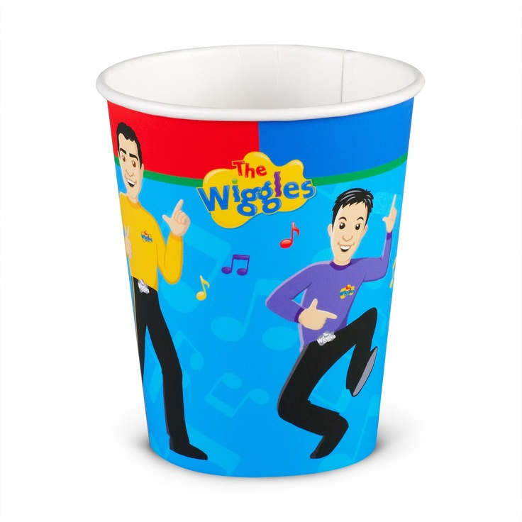 The Wiggles Birthday Party Cups