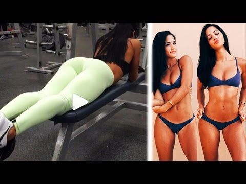 KATYA ELISE HENRY - Fitness Model: Exercises to Build Strong, Lean Legs and a Shapely Butt @ USA - YouTube