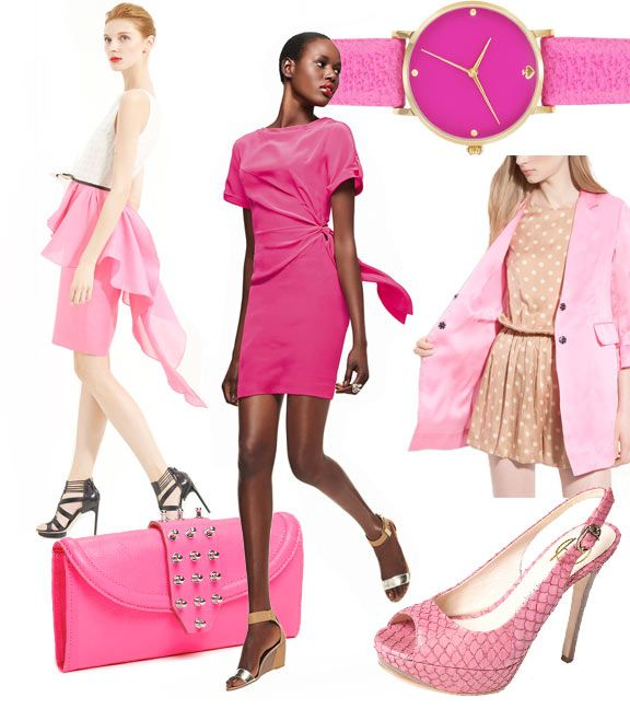 pink is my spring color and i'm lovin it! Salmon/coral too!: Favorite Colors, Spring Colors, Pink Watch, The Dress, Signature Colors