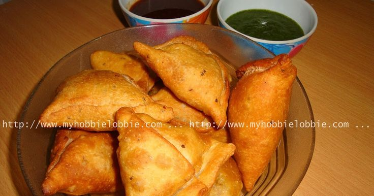 Homemade Samosas made from scratch recipe. Delicious, flaky pastry with a mildly spiced, but very flavorful potato filling.