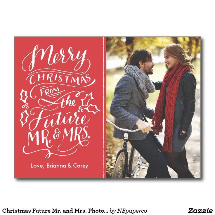 Christmas Future Mr and Mrs Photo Save