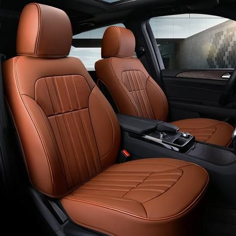Specifications Material Pu Suitable Season All Seasons Filling Cotton Including Front Seat Cover 2 Rear Custom Car Seat Covers Car Seats Leather Car Seats