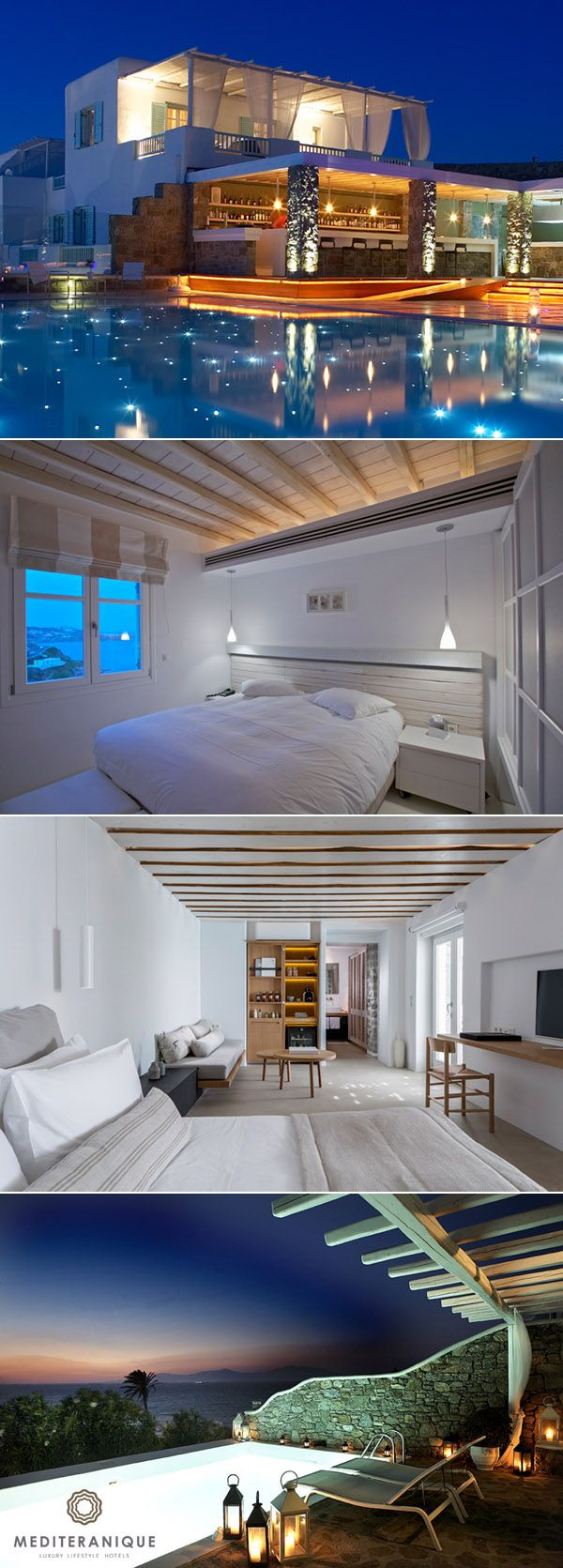 Bill & Coo Suites and Lounge, a luxury hotel in Mykonos