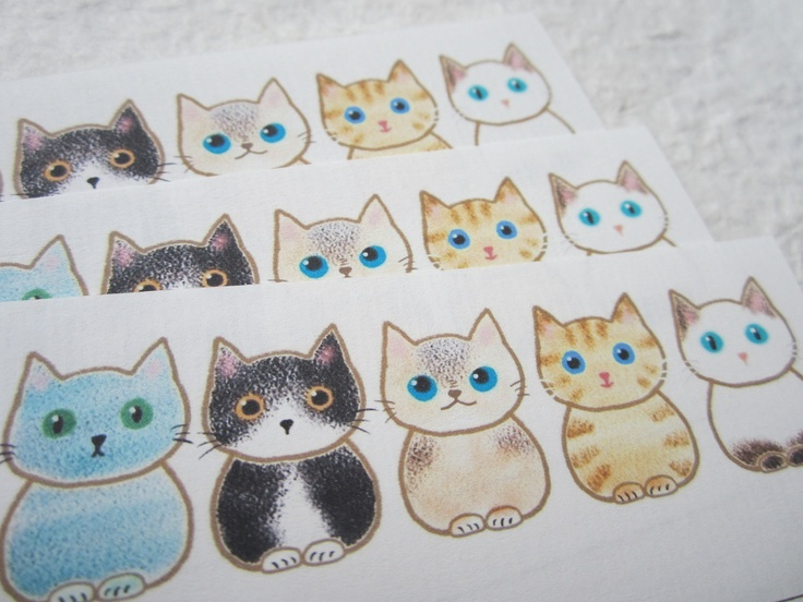 letter-paper / cat-cat-cat. $3,99, via Etsy.