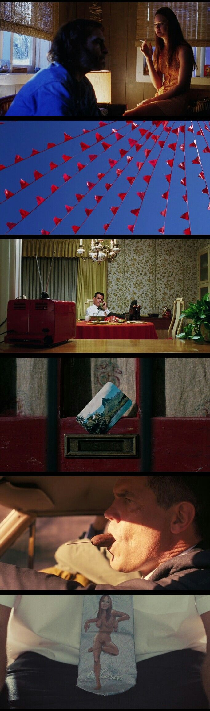 Lighting and Cinematography. Inherent Vice(2014) Director: Paul Thomas Anderson. Cinematography : Robert Elswit.