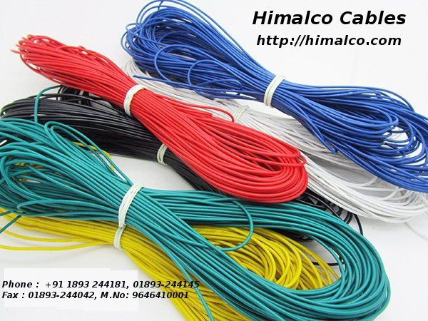 Himachal Aluminium Conductors Himalco Is Providing PVC Wire Cable Wires Cables