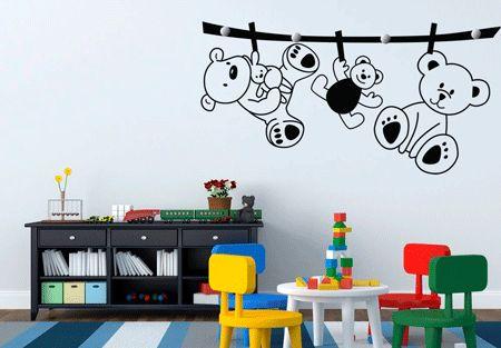 vinilos pared colegio, vinilos para pared, adhesivos pared. http://decoracion-de.com/vinilos-decorativos-infantiles/