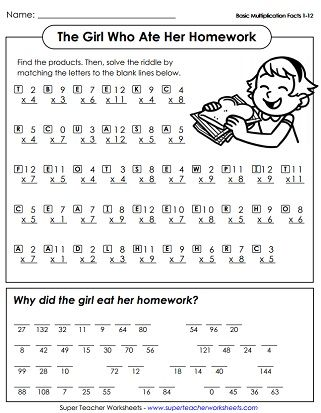 best 25 printable multiplication worksheets ideas on pinterest multiplication worksheets. Black Bedroom Furniture Sets. Home Design Ideas
