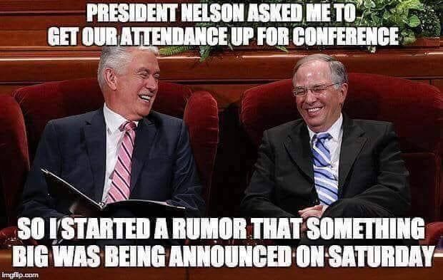 Pin By Carla Bowman On General Conference Quotes Lds Memes Lds Conference Funny Mormon Memes
