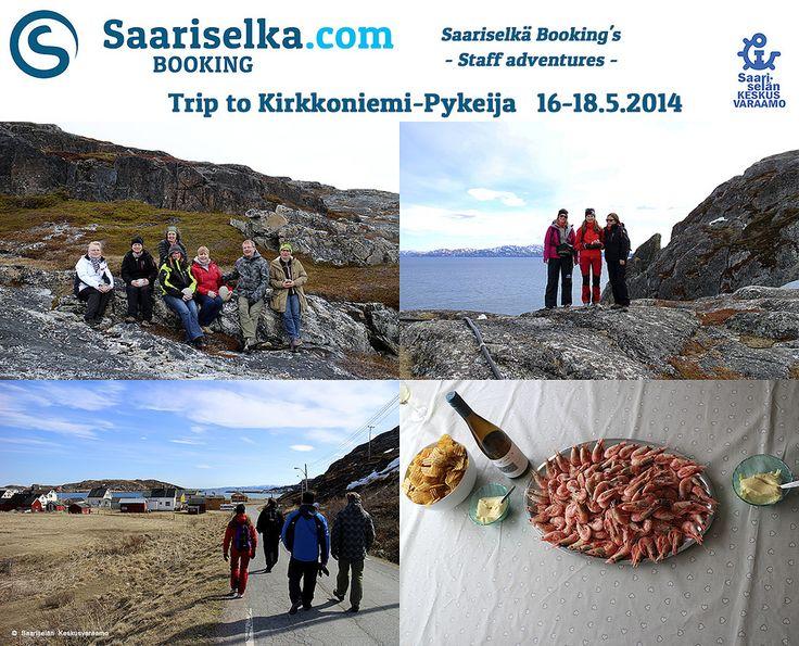 Trip to Kirkkoniemi and Pykeija 16-18 May 2014 | Saariselka.com #saariselka #saariselkabooking #staffadventure #saariselankeskusvaraamo