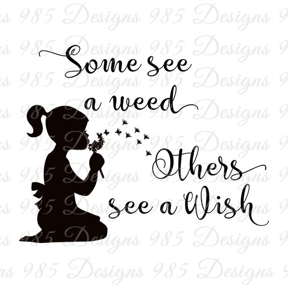 Some See a Weed Saying with Girl SVG for Cricut and Silhouette Machines plus .PNG and EPS Iron On Transfer Laser Cutting and Engraving by 985 Graphic Designs, $2.70 CAD
