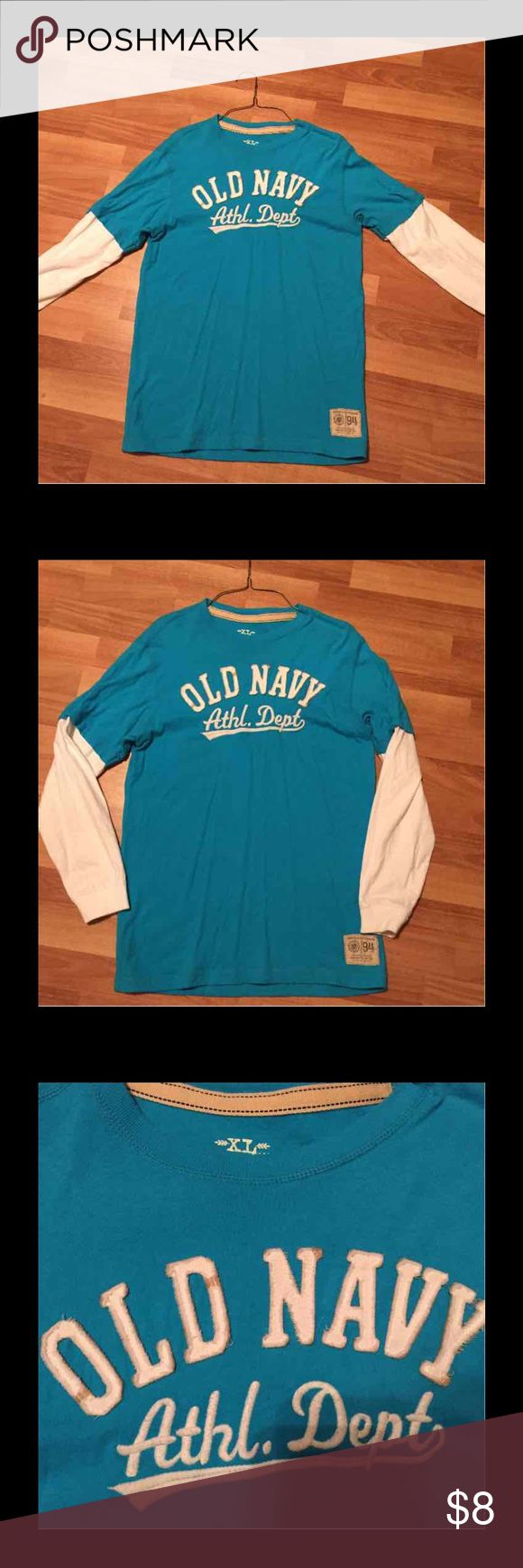Old Navy long sleeve top Old Navy nice top for girls size XL. Good condition. Old Navy Shirts & Tops Tees - Long Sleeve
