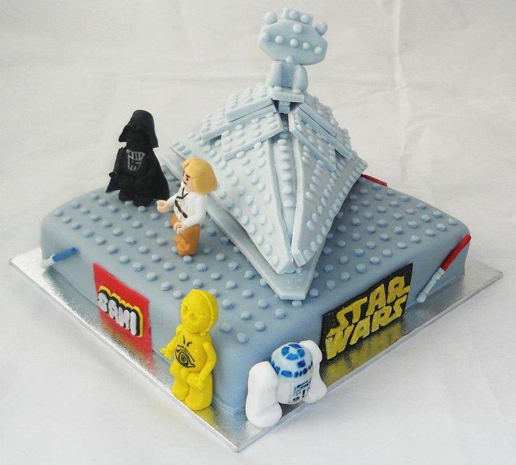 Starwars Lego Cake This Would Make Nick Happy Birthday