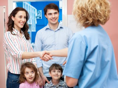 Family is an effective and available channel for the most of the CHN efforts. So, it is the nurses' duty to give our client happiness from our service.  (CHN considers the family as the unit of service)